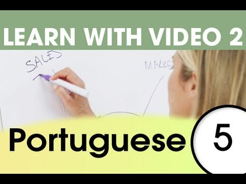 Learn Portuguese with Video - Top 20 Portuguese Verbs 3