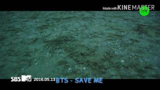 BTS - SAVE ME (Rom + Eng Lyrics)