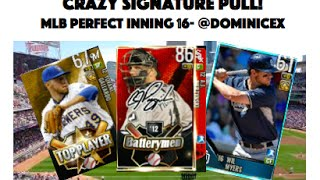 Signature pull mlb perfect inning 16 pack opening dominicex
