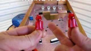getlinkyoutube.com-Homemade Pinball Machine - Building The Spinner