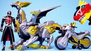 getlinkyoutube.com-가면라이더 위자드 (위저드) 파워레인저 다이노포스, 위저드래곤,머신윙거 Kamen Rider Wizard Dragon & bike toys