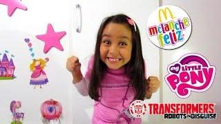 getlinkyoutube.com-Brindes MC Lanche Feliz - My Little Pony e Transformers