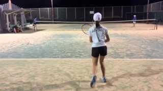 getlinkyoutube.com-テニスジュニアたちの試合形式ラリー〜イヌヅカスポーツプランニング〜