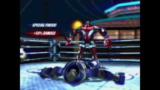 getlinkyoutube.com-Real Steel Champions | FREE SPARRING | Zeus (IRON MAN) VS SPARRING BOT NEW ROBOTS GAME