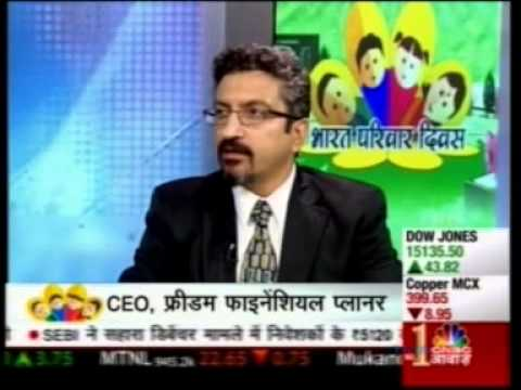 CNBC Awaaz Bharat Parivaar Divas 14 May 2013 22min 02sec Mr Sumeet Vaid - CEO, Freedom Fina