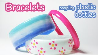 getlinkyoutube.com-DIY crafts: BRACELETS recycling plastic bottles - Innova Crafts