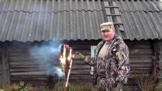 getlinkyoutube.com-Факел индейская свеча.