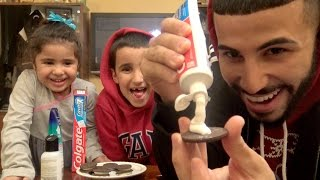 getlinkyoutube.com-Toothpaste, Shampoo & FaceWash in Oreos Prank!!!