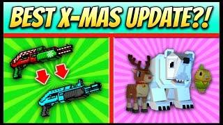 getlinkyoutube.com-BEST CHRISTMAS UPDATE?! | Pixel Gun 3D - New Update 11.2.0 [Review]