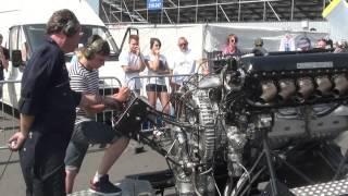 getlinkyoutube.com-Rolls Royce V12 27litre Merlin engine PV12 FULL THROTTLE!