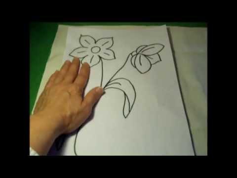 Curso de bordado básico 3: Dibujar plantillas para bordar