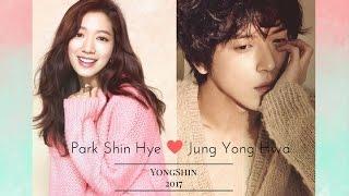 getlinkyoutube.com-Park Shin Hye and Jung Yong Hwa 2017 | YongShin Moments