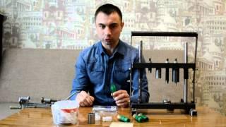 getlinkyoutube.com-Самодельный станок для снаряжения дробовых патронов