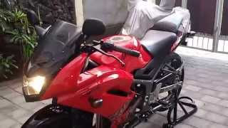 getlinkyoutube.com-Kawasaki Ninja 150 RR Super Kips 2013