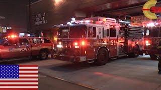 getlinkyoutube.com-[NEW YORK CITY] ALL OUT! FDNY Midtown Firehouse go on a run!