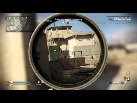 xMMx Call Of Duty : Ghost - Sniper 101
