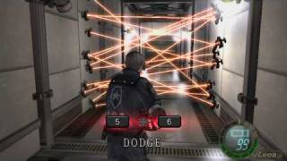 getlinkyoutube.com-Resident Evil 4: Laser Room