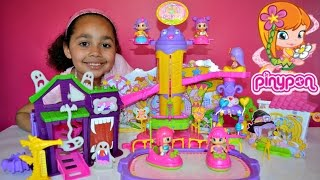 getlinkyoutube.com-Pinypon Theme Park Fun Fair Playset - Pinypon Doll Figures | Kids Review And Play