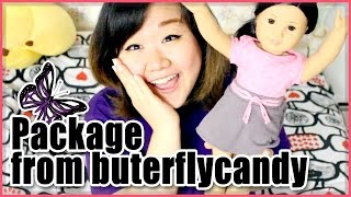 Awesome Package Opening from Buterflycandy!! - My 2nd American Girl Doll - AG Doll