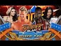 WWE SummerSlam 2013 Dolph Ziggler and Kaitlyn Vs Big E Langston and AJ Lee