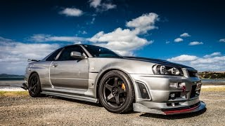 "getlinkyoutube.com-The 1,000 HP ""I-DEMON"" R34 Skyline GTR - TST in NZ"