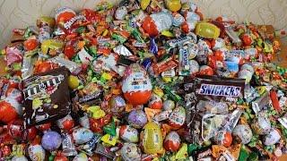 a lot of candy NEW! , Много сладостей и конфет
