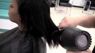 getlinkyoutube.com-How to Shampoo, Condition and Blow Dry Relaxed Hair