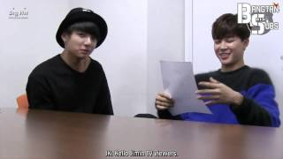 getlinkyoutube.com-[ENG] 150106 BOMB: Finding Jungkook by Jimin PD (2)