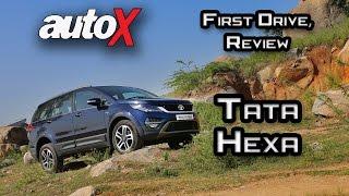 getlinkyoutube.com-Tata Hexa Review | First Drive | autoX
