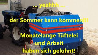 getlinkyoutube.com-Eigenbau  Rundballenpresse