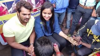 Khesari Lal Yadav | Hot Kajal Raghwani | Mehandi Lagake Rakhna | Bhojpuri Movie | Patna Morya Com0le