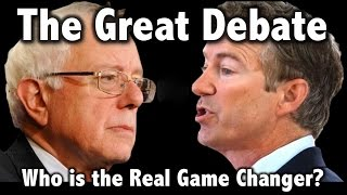 getlinkyoutube.com-Bernie Sanders vs Rand Paul: Healthcare & Drug Company Corruption