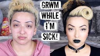 getlinkyoutube.com-GET READY WITH ME | I'M SICK MAKEUP ROUTINE