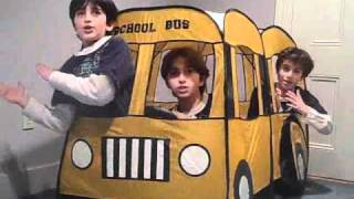 getlinkyoutube.com-The Wheels on the Bus Go Round and Round