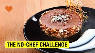 NO-CHEF Chocolate Mousse Tart, Caramel & Almond Cream ! It's all love