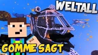 getlinkyoutube.com-AB INS WELTALL! - Minecraft GOMME SAGT *Eigener Spielmodus*