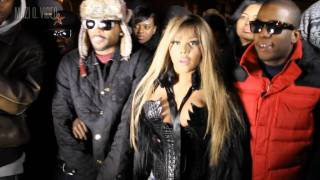 Lil kim black friday video shoot (nicki minaj diss)
