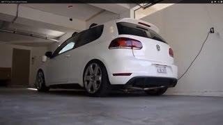 getlinkyoutube.com-Mk6 GTI Euro Sport Catback Exhaust
