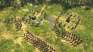 getlinkyoutube.com-Age of Empires III Multiplayer Gameplay [Deutsch/HD] Deutschland gegen Holland!