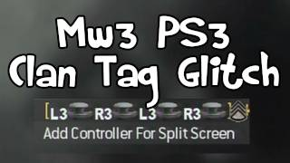 getlinkyoutube.com-MW3 - Buttons In Clan Tag Glitch Tutorial (PS3)