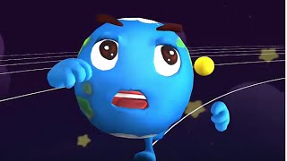 getlinkyoutube.com-Baby Panda Explore And Learn About The Planets In Our Solar System | Babybus Kids Games