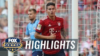 Bayern Munich vs. Bayer Leverkusen | 2018-19 Bundesliga Highlights width=