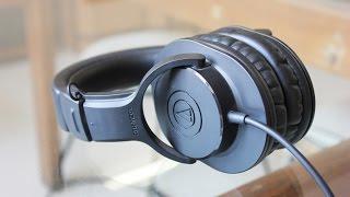 getlinkyoutube.com-Audio Technica ATH-M20x review! (Mrwhosetheboss)