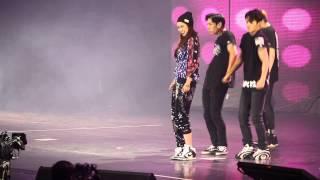 getlinkyoutube.com-[FanCam]150703 Song Jihyo dancing Hot Issue [Race Start! Season 3: Running Man Special Tour in HK]