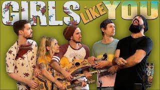 Girls Like You - Walk off the Earth (Maroon 5 Cover)