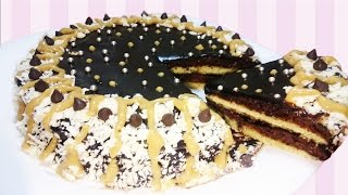 getlinkyoutube.com-كيكة بالشوكولاته لذيذة وسهلة - كيك بدون فرن