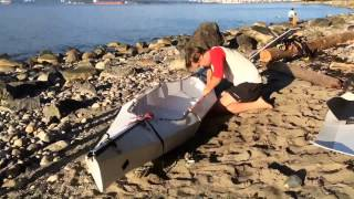 getlinkyoutube.com-DIY Folding Sit-on-Top Kayak V2