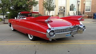 getlinkyoutube.com-1959 Cadillac Caddy Series 62 Convertible in Red Paint - My Car Story with Lou Costabile