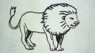 getlinkyoutube.com-How to Draw a Lion (Cara Menggambar Singa)