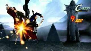 getlinkyoutube.com-Mugen Dante vs Vergil (DMD Mode)